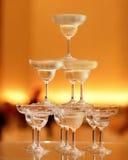 Champagnetorn Royaltyfri Foto