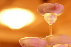 Champagnetorn Arkivfoto