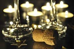 champaign εορτασμού Στοκ Εικόνες