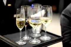champaign royalty-vrije stock fotografie