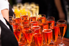 Champaign glasses Royalty Free Stock Photos