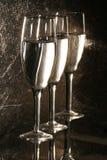 champaigne γυαλιά Στοκ εικόνα με δικαίωμα ελεύθερης χρήσης