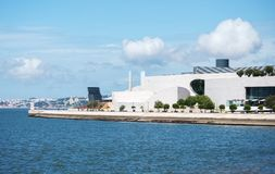 Champalimaud Foundation building. Stock Photography