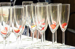 Champane glasss Royalty Free Stock Images