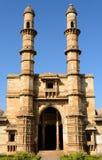 Champaner - arkeologiska Pavagadh parkerar nära Vadodara, Indien royaltyfri foto