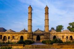 Champaner della moschea di Sahi Fotografia Stock Libera da Diritti