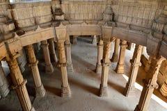 Champaner - het Archeologische Park van Pavagadh dichtbij Vadodara, India Stock Afbeelding