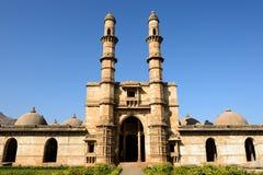 Champaner - het Archeologische Park van Pavagadh dichtbij Vadodara, India Stock Foto