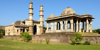 Champaner - Pavagadh Archaeological Park near Vadodara, India. Champaner - Pavagadh Archaeological Park is a historical city in the state of Gujarat. Kevda Stock Photo