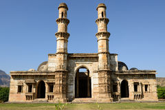 Champaner - Pavagadh Archaeological Park near Vadodara, India. Champaner - Pavagadh Archaeological Park is a historical city in the state of Gujarat. Kevda Stock Photos