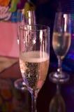 champange γυαλί Στοκ Εικόνες