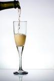 champange γυαλί στοκ εικόνα