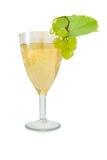 Champanhe de vidro. Imagem de Stock