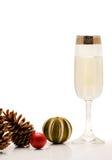 Champanhe do Natal Foto de Stock