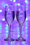 Champanhe do Natal Imagem de Stock
