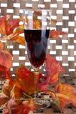 Champanhe esquecido Fotografia de Stock