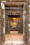 champasak老挝phu破庙wat 图库摄影