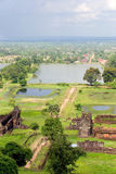 champasak老挝phu破庙wat 免版税图库摄影