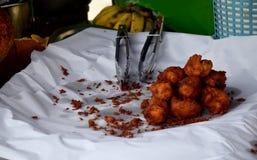 Champedak or Artocarpus integer deep fried Royalty Free Stock Photography