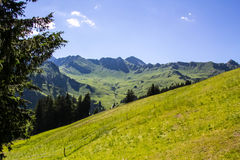 Champery royalty free stock photography