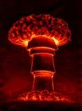 Champignon atomique atomique illustration de vecteur