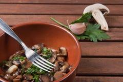Champignon de champignon de paris Photo stock