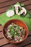 Champignon de champignon de paris Image stock