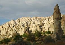 Champignon de couche en pierre de Cappadocia Images libres de droits