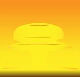 Champignon de couche nucléaire illustration stock