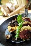 Champignon de couche rôti Photo stock