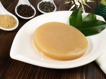 Champignon et ingrédients de Kombucha photo stock