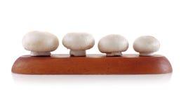Champignon lokalisiert auf weißem Hintergrund Lizenzfreies Stockfoto