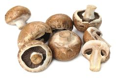 Champignon mushrooms Royalty Free Stock Photo