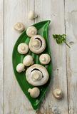 Champignon mushrooms Royalty Free Stock Images
