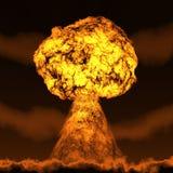 Champignon nucléaire Photographie stock libre de droits