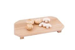 Champignon-Pilz, siamesischer Bestandteil Tom-Yum Stockfoto