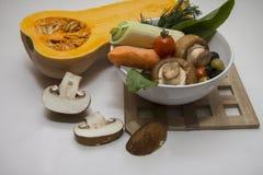 Champignons Cutted для французского julienne Стоковое Фото