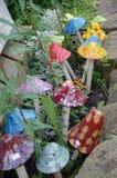 Champignons décoratifs Images stock