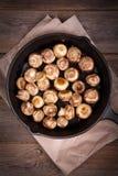 Champignons d'ail Photographie stock