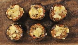 Champignons de châtaigne de nourriture Image stock