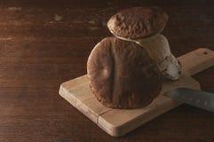 Champignons de couche de Porcini Photographie stock libre de droits