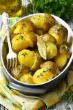Champinjoner för stekt potatis '' Royaltyfri Fotografi