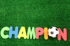 Champion ball Stock Photography