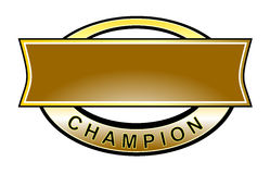 Champion belt Stock Images