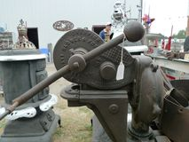 Champion Blower & Forge Co., Lancaster, PA, antique piece for sale Royalty Free Stock Photo