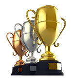 Champion cups Royalty Free Stock Photo