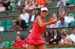 Champion d'Ivanovic d'ana de Roland Garros 2008 (104) Photos libres de droits