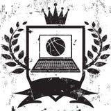 Champion de basket-ball d'imagination Photographie stock