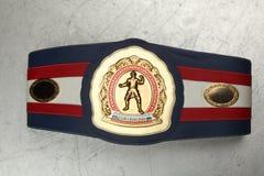 Champion de boxe de ceinture Photos stock