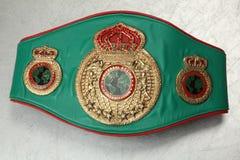 Champion de boxe de ceinture du monde UBO Image stock